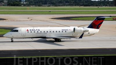 A picture of N840AS - Mitsubishi CRJ200ER - [7290] - © Agustin Anaya