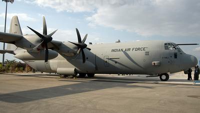 KC3806 - Lockheed Martin C-130J-30 Hercules - India - Air Force