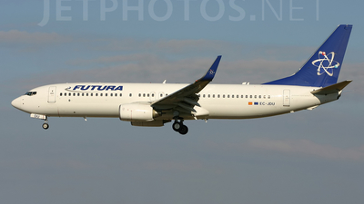 EC-JDU - Boeing 737-86N - Futura International Airways