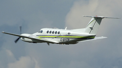 G-BYCP - Beechcraft 200 Super King Air - London Executive Aviation