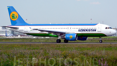 UK-32014 - Airbus A320-214 - Uzbekistan Airways