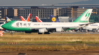 Boeing 747-4EVERF - Jade Cargo International