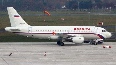 N940FR - Airbus A319-111 - Rossiya Airlines