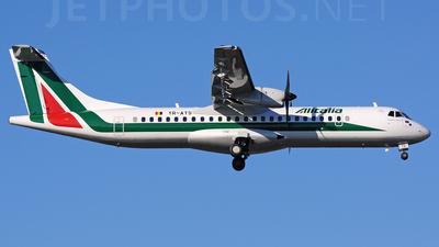 YR-ATS - ATR 72-212A(500) - Alitalia (Carpatair)