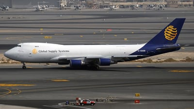 G-GSSB - Boeing 747-47UF(SCD) - Global Supply Systems