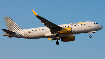 EC-LVV - Airbus A320-232 - Vueling Airlines