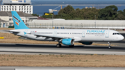 TC-TCE - Airbus A321-211 - Turkuaz Airlines