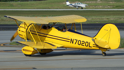 N7020L - Waco YMF-5 - Private