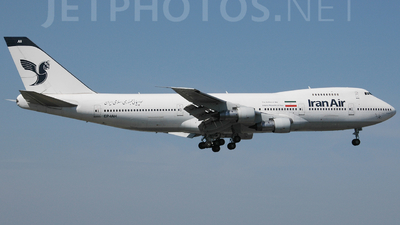 EP-IAH - Boeing 747-286B(M) - Iran Air