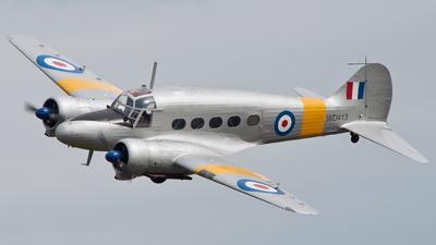 G-VROE - Avro 652A Anson T.21 - Private