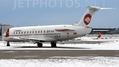 OY-RJD - Bombardier CRJ-100LR - Cimber Sterling Airlines