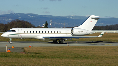 HB-JER - Bombardier BD-700-1A10 Global Express - Private
