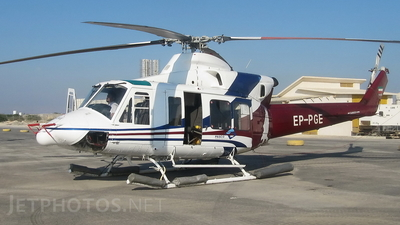 EP-PGE - Bell 412 - Persian Gulf Aviation Service
