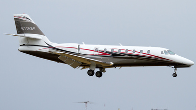 N715WE - Cessna 680 Citation Sovereign - Private