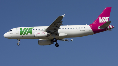 LZ-MDD - Airbus A320-232 - Air Via