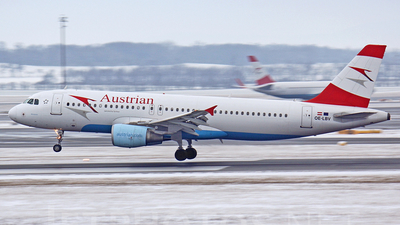 OE-LBV - Airbus A320-214 - Austrian Airlines (Tyrolean Airways)