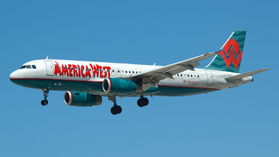 N640AW - Airbus A320-232 - America West Airlines