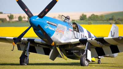 N487FS - North American P-51C Mustang - Private