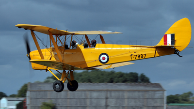 G-AHUF - De Havilland DH-82A Tiger Moth - Private