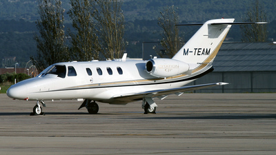 M-TEAM - Cessna 525 CitationJet 1 Plus - Private