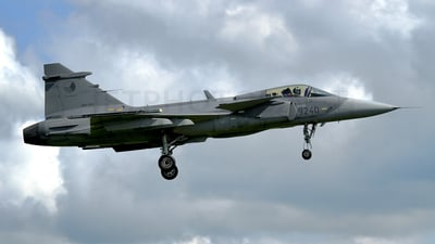 9240 - Saab JAS-39C Gripen - Czech Republic - Air Force