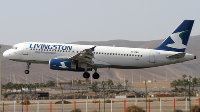 EI-EWO - Airbus A320-232 - Livingston Airlines