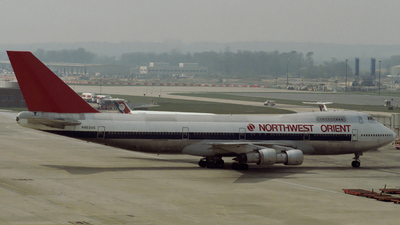 N603US - Boeing 747-151 - Northwest Orient Airlines