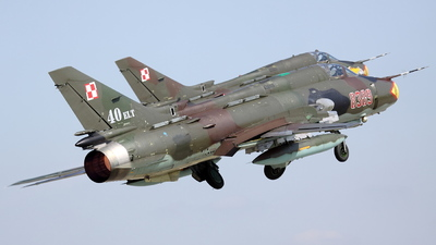 8309 - Sukhoi Su-22M4 Fitter K - Poland - Air Force