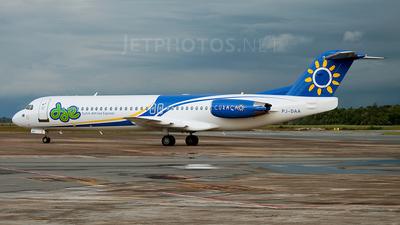 PJ-DAA - Fokker 100 - Dutch Antilles Express