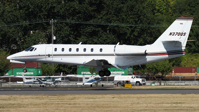 N370QS - Cessna 680 Citation Sovereign - NetJets Aviation
