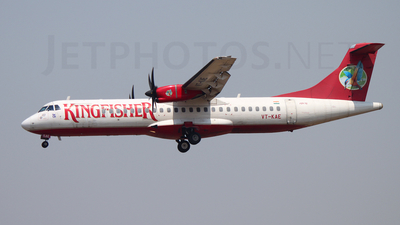VT-KAE - ATR 72-212A(500) - Kingfisher Airlines