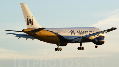 G-MAJS - Airbus A300B4-605R - Monarch Airlines