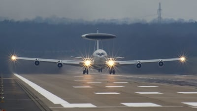 LX-N90442 - Boeing E-3A Sentry - NATO - Airborne Early Warning Force