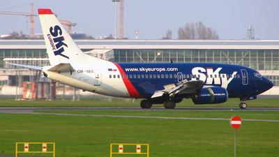 Boeing 737-5Y0 - SkyEurope Airlines