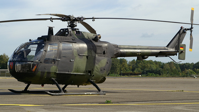 86-12 - MBB Bo105P1 - Germany - Army