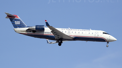 N418AW - Bombardier CRJ-200ER - US Airways Express (Air Wisconsin)