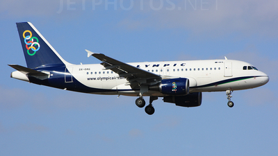 SX-OAG - Airbus A319-112 - Olympic Air