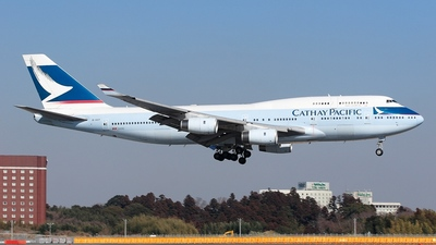 B-HOT - Boeing 747-467 - Cathay Pacific Airways