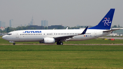 EC-JRL - Boeing 737-86J - Futura International Airways