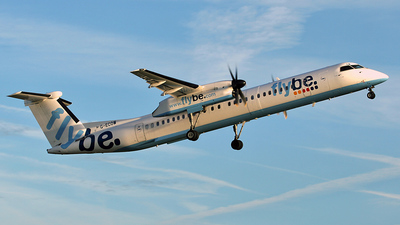 G-ECOW - Bombardier Dash 8-Q402 - Flybe