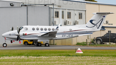 A picture of VHJEA - Beech 300 Super King Air 350 - [FL361] - © Jayden Laing