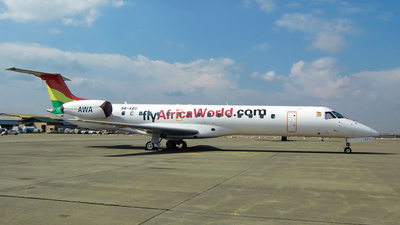 9G-AEU - Embraer ERJ-145LI - Africa World Airlines