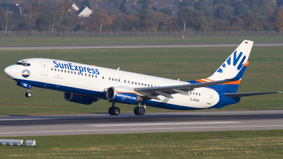 D-ASXE - Boeing 737-8CX - SunExpress Germany