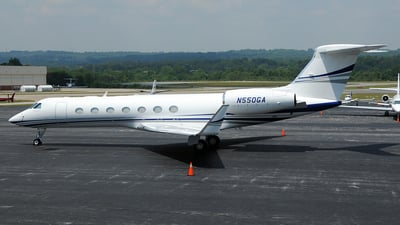 N550GA - Gulfstream G550 - Private