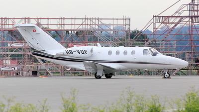 A picture of HBVOF - Cessna 525 CitationJet CJ1+ - TAG Aviation - © Robert Kolek - lojza