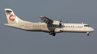 OY-RTC - ATR 72-202 - Cimber Sterling Airlines