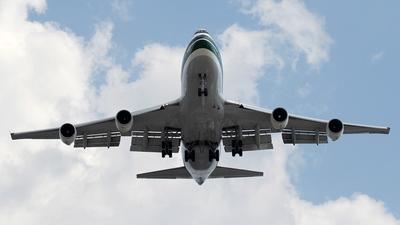 A picture of N487EV - Boeing 747230B - [23286] - © Kaz T