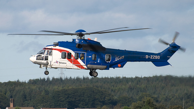 A picture of GZZSG - Airbus Helicopters H225 - Bristow Helicopters - © scott wright