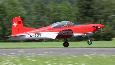 A-933 - Pilatus PC-7 - Switzerland - Air Force