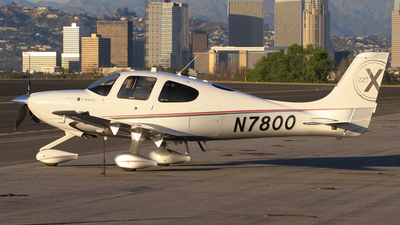 A picture of N7800 - Cirrus SR22T - [0015] - © Derin